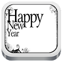 New Year Party Invitation Card icon