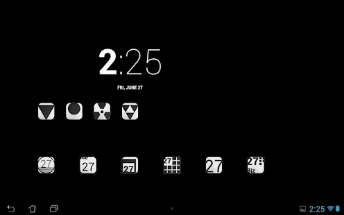 BLK - Icon Pack- screenshot thumbnail
