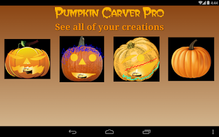 Screenshot of Pumpkin Carver Pro HD