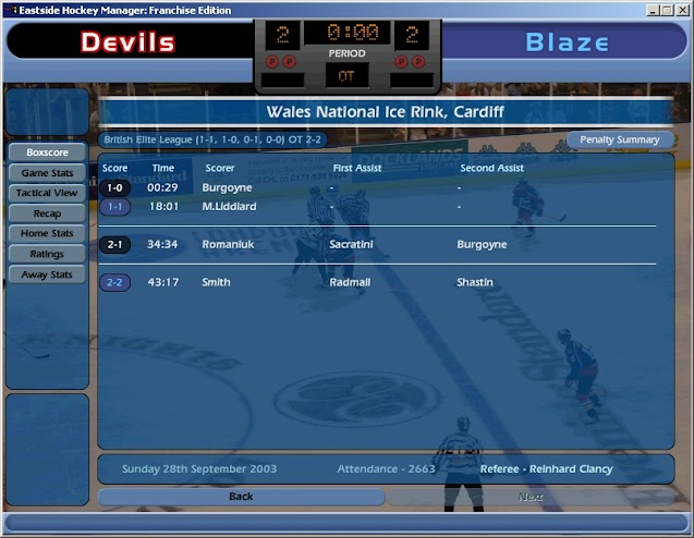 E3 2004: NHL Eastside Hockey Manager