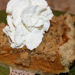 Pumpkin Pie With Pecan Streusel Recipeby Prudence Pennywise