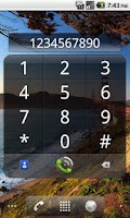 Screenshot of Impact Dialer Widget