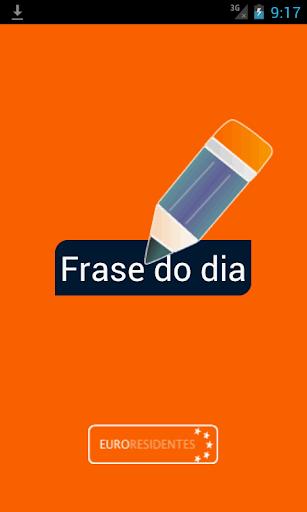 A Frase do Dia