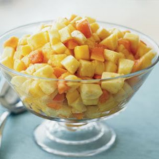Mango, Pineapple and Papaya Salad