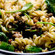 Pasta With Sausage, Fennel And Spinach