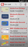 Screenshot of CardLess+