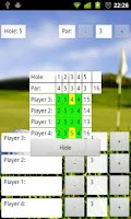 Screenshot of myGolf