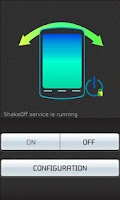 Screenshot of Shake - Screen Off