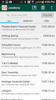 Screenshot of VIST Bank Mobile