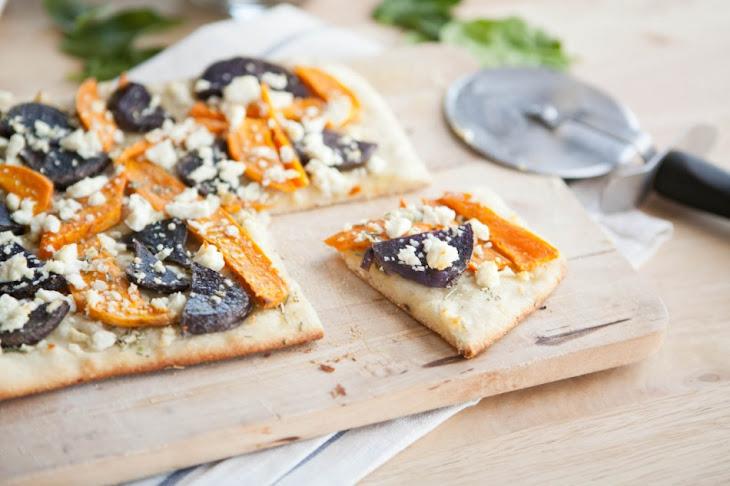 Sweet Potato and Feta Pizza Recipe | Yummly