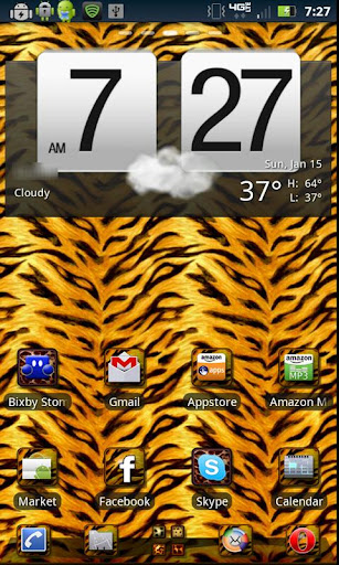 Wild Thing Theme GOLauncher EX