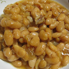 Slow Cooker Baked Beans With Maple Syrup