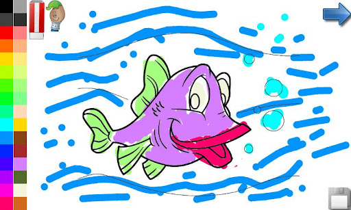 【免費教育App】魚類的幼兒-APP點子