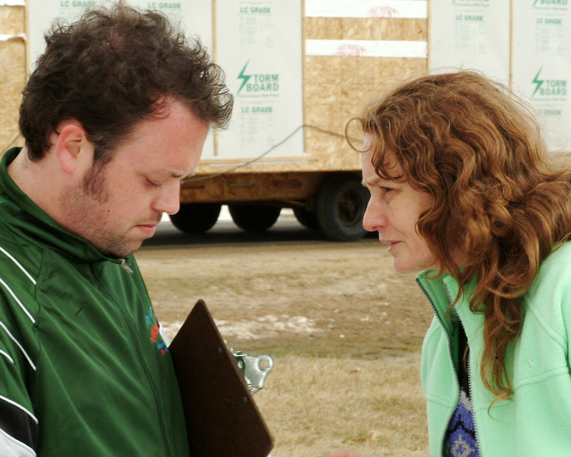 Jay Klatz (left) as Guy Versailles and Melissa Leo as Ray Eddy, Photos by Jory Sutton, Courtesy Sony Pictures Classics.