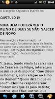 Screenshot of Evangelho Segundo Espiritismo