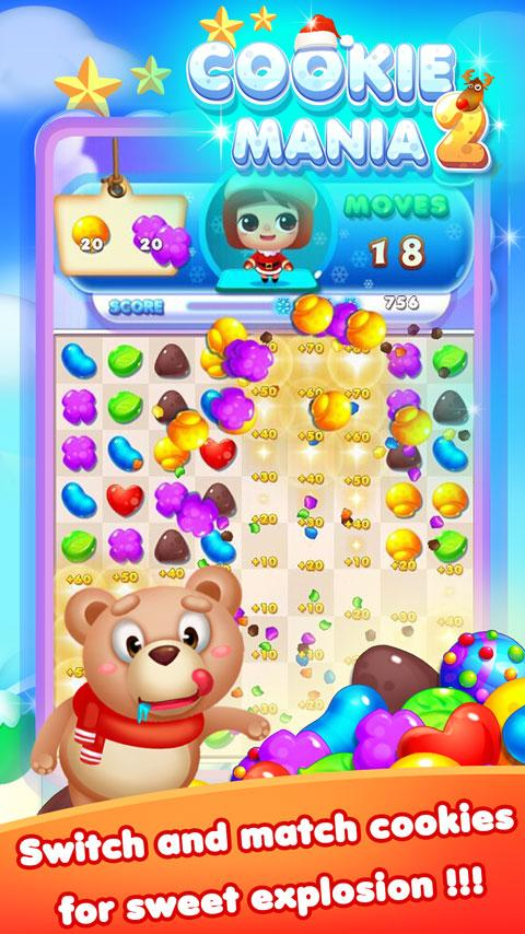 Cookie Mania 2 Screenshot 2