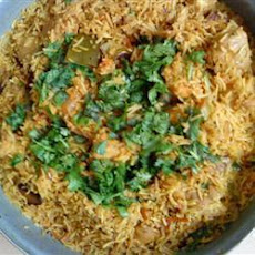 Turkey Biryani