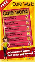 Screenshot of Cafe World