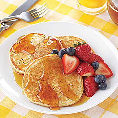 Blueberry Yogurt Multigrain Pancakes Recipes — Dishmaps
