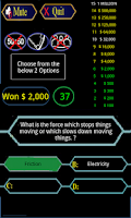 Screenshot of Quiz game 2014