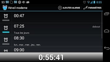Screenshot of Clock so modern