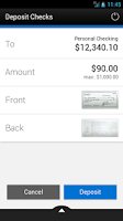 Screenshot of Exchange Bank Mobile