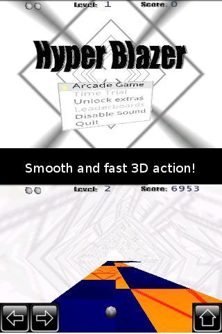 【免費街機App】Hyper Blazer-APP點子