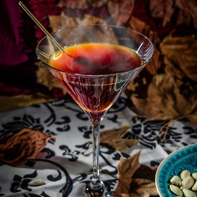 Warm Autumn Day Martini