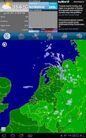 Screenshot of Buienradar HD
