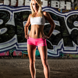Helen Bavin by Charles Lugtu - Sports & Fitness Fitness ( natural light, model, fashion, fitness model, fitness, fit model, edgy, 50mm, photography, glamour, dramatic lighting, fit, d700, graffiti, nikon, digital photography, nik software, chiaroscuro, fashion vandalism, san diego photographer, san diego fitness, glamour and vandalism, san diego, san diego model, nik,  )