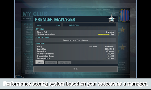 Premier Manager - screenshot