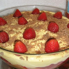 Sensational Strawberry Summer Trifle