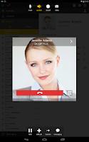 Screenshot of Bria play Tablet Edition