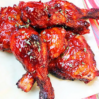 Saucy Baked BBQ Chicken