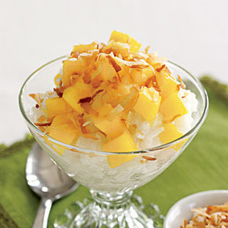 Mango-Coconut Rice Pudding