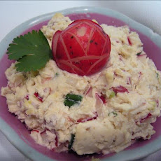 Red Radish Cheese Spread