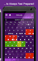 Screenshot of MeLady - Period Tracker