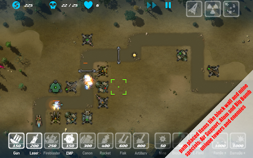 M.A.C.E. tower defense Full - screenshot