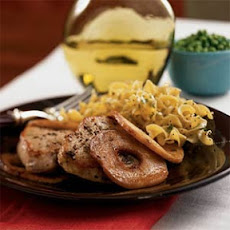 Pork Loin Chops with Cinnamon Apples