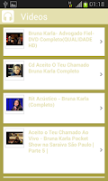 Screenshot of Bruna Karla - Canto Gospel