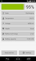Screenshot of Battery Level