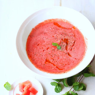 Thai-Spiced Watermelon Soup With Crabmeat Recipes — Dishmaps