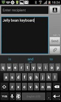 Screenshot of Jelly Bean 4.2 Keyboard Full
