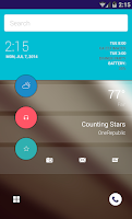 Screenshot of Android L Theme