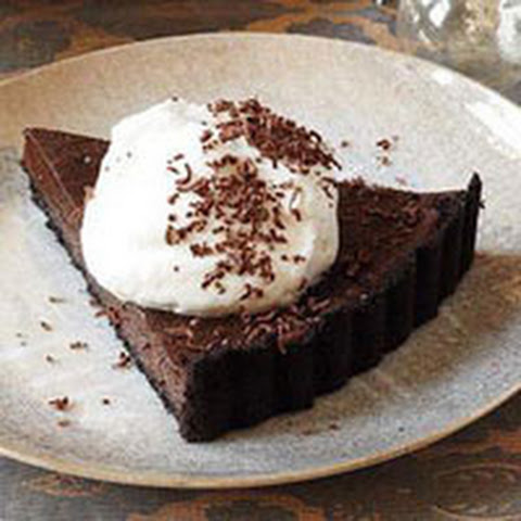 Double Chocolate Fudge Tart