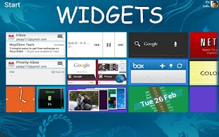 Screenshot of Windows 8 for android (trial)