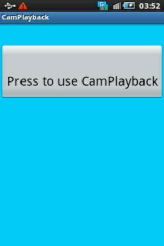 Cam Playback