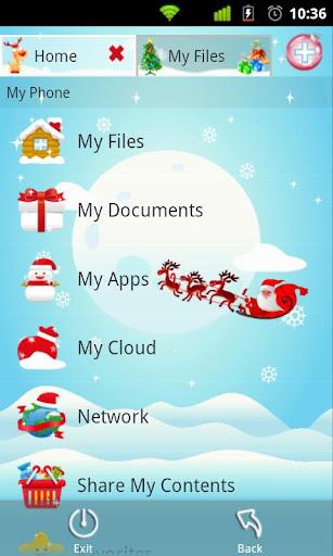 File Expert Christmas Theme