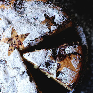 Izy's Chocolate Chip Amaretto Torte from Top With Cinnamon!