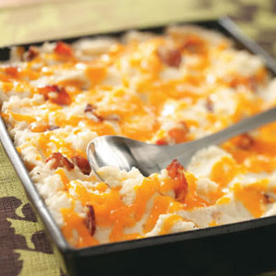 Twice-Baked Mashed Potatoes Recipe